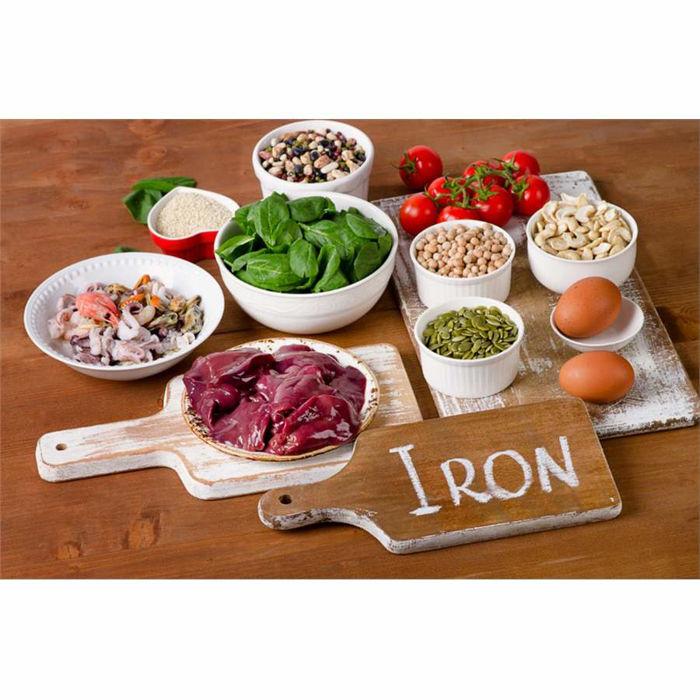 Obrázek 10 potravín, ktoré vám zaistí dostatok železa